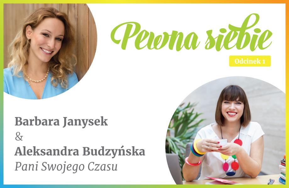 Pewna siebie Barbara Janysek Aleksandra Budzyńska fitStrategia