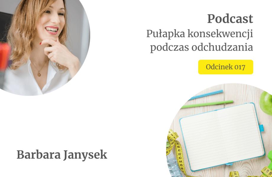 Pulapka konsekwencji podczas odchudzania_Podcast_fitStrategia_Barbara Janysek